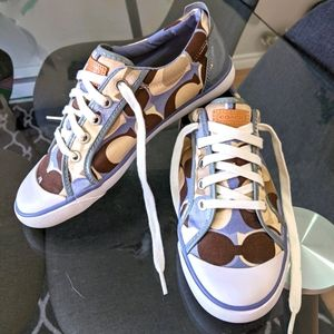 Coach Canvas Shoes